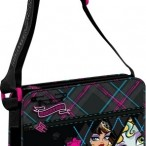 Torba za rame Monster High sa rombovima i zipom