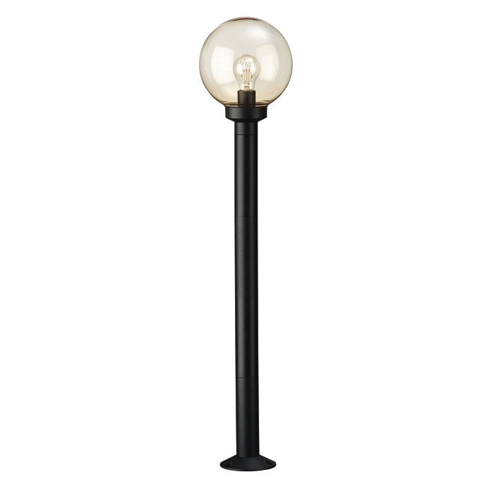 BALI post black 1x60W 230V - Podne lampe