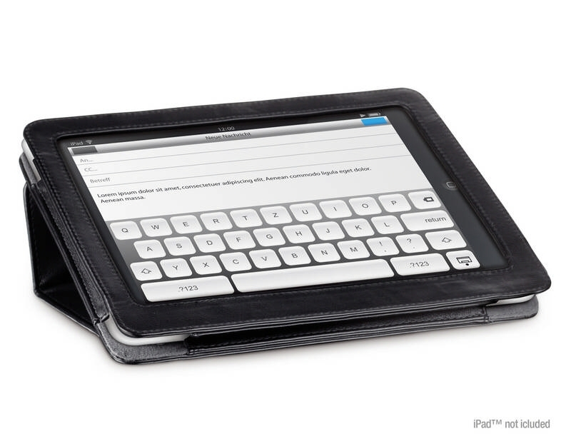 GALA Pad Wallet for iPad, black - Postolja Ipad